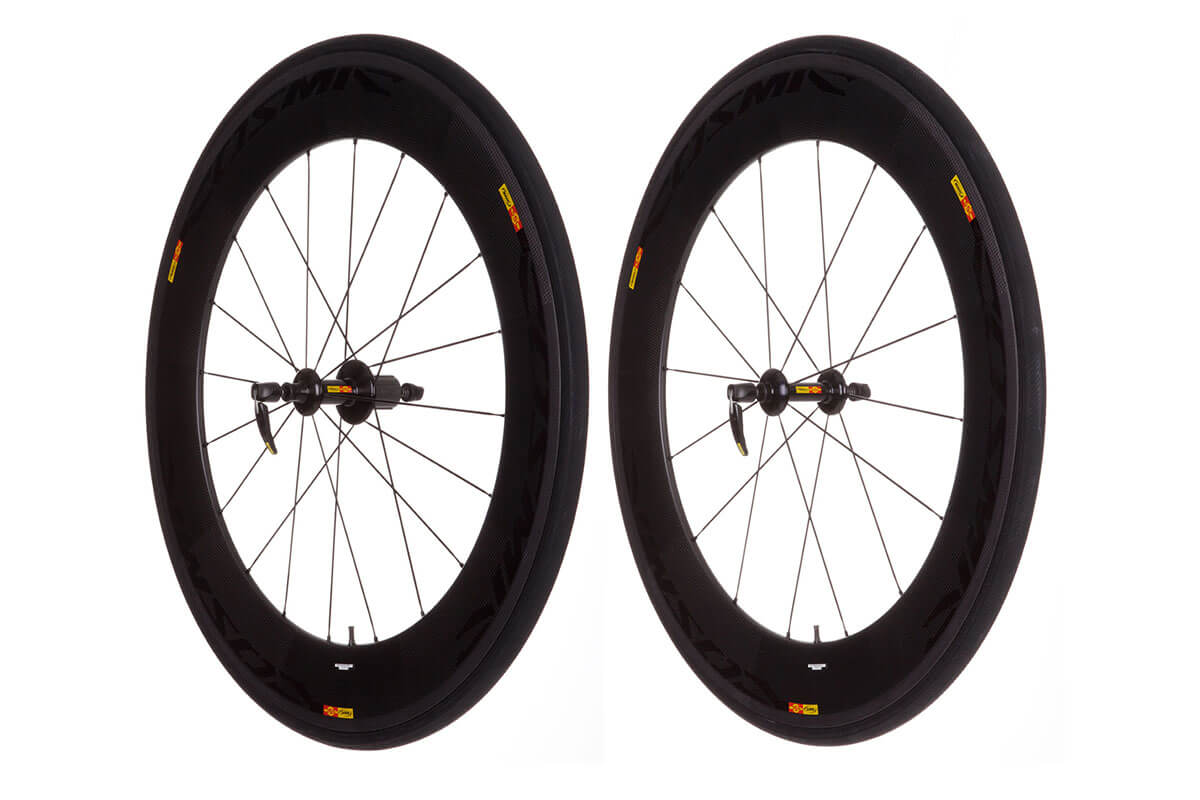 Mavic Cosmic Carbone 80 2013 Tubular Wheelset