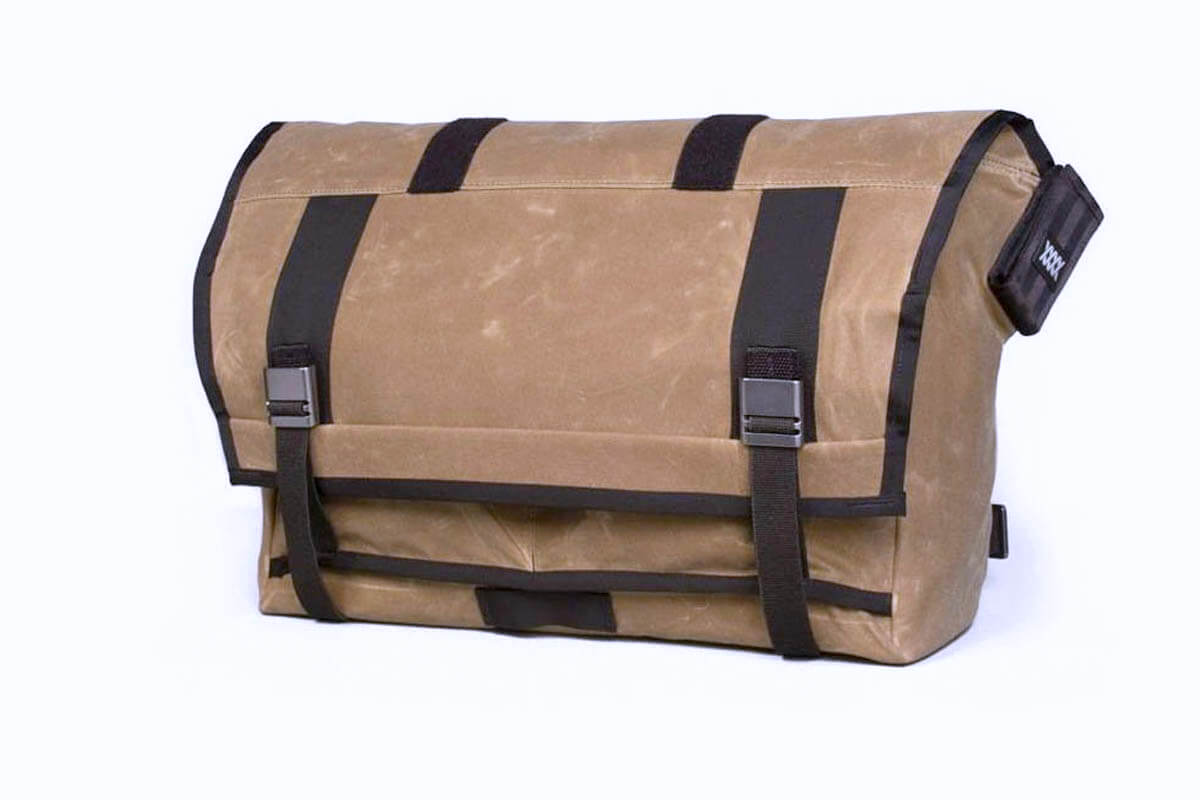 Mission Workshop Rummy Waxed Canvas Messenger Bag