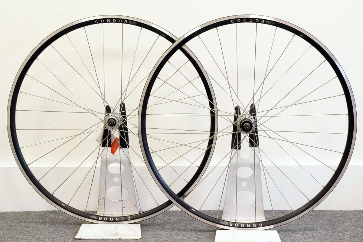 Condor Handbuilt Wheelset with Shimano 105 5800 Hubs